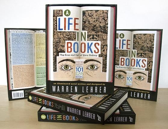 Warren Lehrer-A Life In Books_Covers_558p
