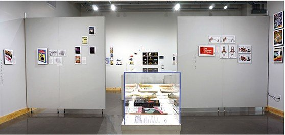 Warren Lehrer_ALIB exhibit_3rd gallery_558p